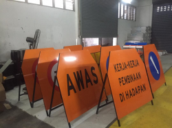 Signboard Temporary A Stand
